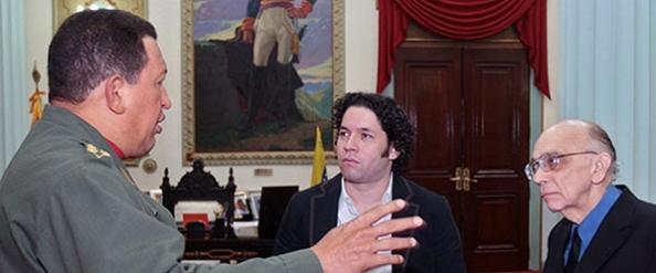 Chavez and Jose Antonio Abreu