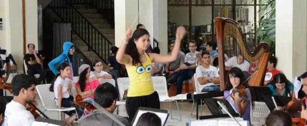 Paola Castillo en Les Tuilleries