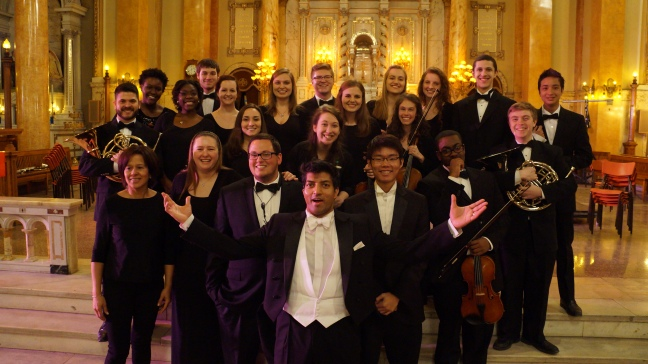 The UNC Charlotte Chamber Orchestra in Montreal