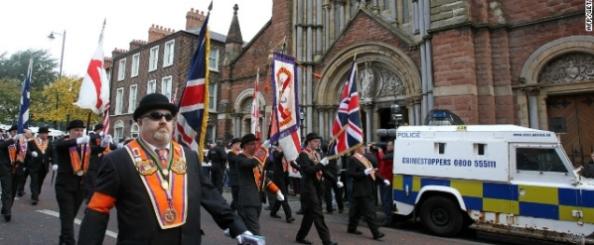Orangement on Parade